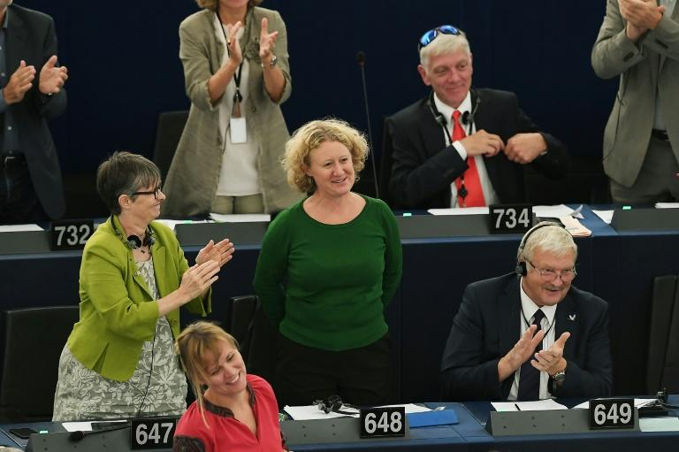 """""""It is a positive sign of this parliament taking responsibility and wanting action,"""" said Dutch MEP Judith Sargentini, who spearheaded the vote"""