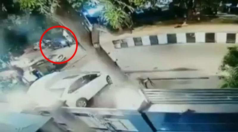 Delhi Woman Rams Her BMW Into Ice-Cream Stall, Blames Her Pet Dog (Watch Video)