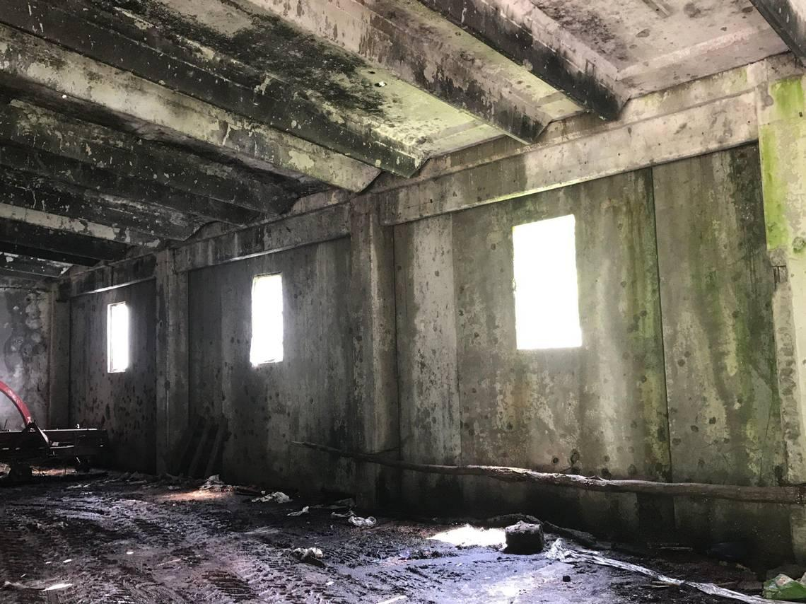 A warehouse in the small village of Kravica, Bosnia was the site of a round-up and massacre of about 1,300 men and boys. Bullet holes in the walls can still be seen.