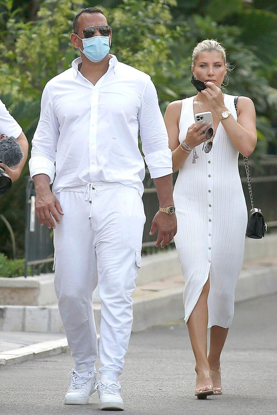Alex Rodriguez is getting really close to Melanie Colins