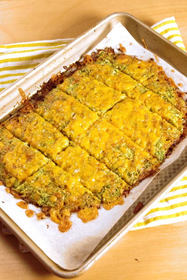 "<p>Lots and lots of cheddar cheese finally makes broccoli kid-friendly.</p><p>Get the recipe from <a rel=""nofollow"" href=""http://www.delish.com/cooking/recipe-ideas/recipes/a54349/broccoli-cheesy-bread-recipe/"">Delish</a>.</p>"