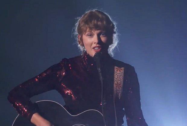 Taylor Swift Performs Betty At 2020 Acm Awards Watch