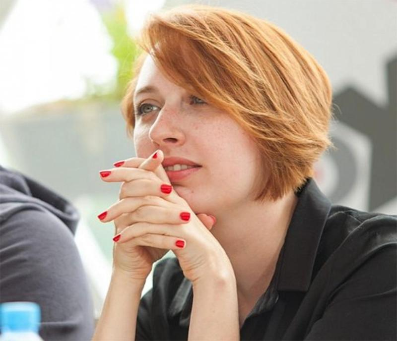 Tatyana Feldenhauer is deputy editor in chief of the leading liberal radio station Echo of Moscow (Twitter)