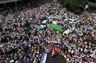Authorities have gradually ratcheted up their use of force against a massive and largely peaceful civil disobedience campaign demanding the return of ousted leader Aung San Suu Kyi