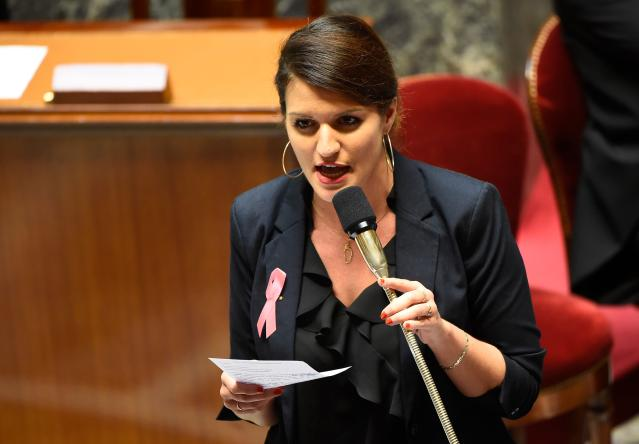 """French gender equality minister Marlene Schiappa said that the law is """"completely necessary."""" (Photo: Getty Images)"""