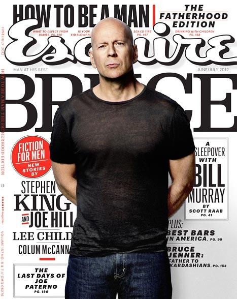 """Bruce Willis: I Want My Daughters With Demi Moore to """"Shun Drama"""""""