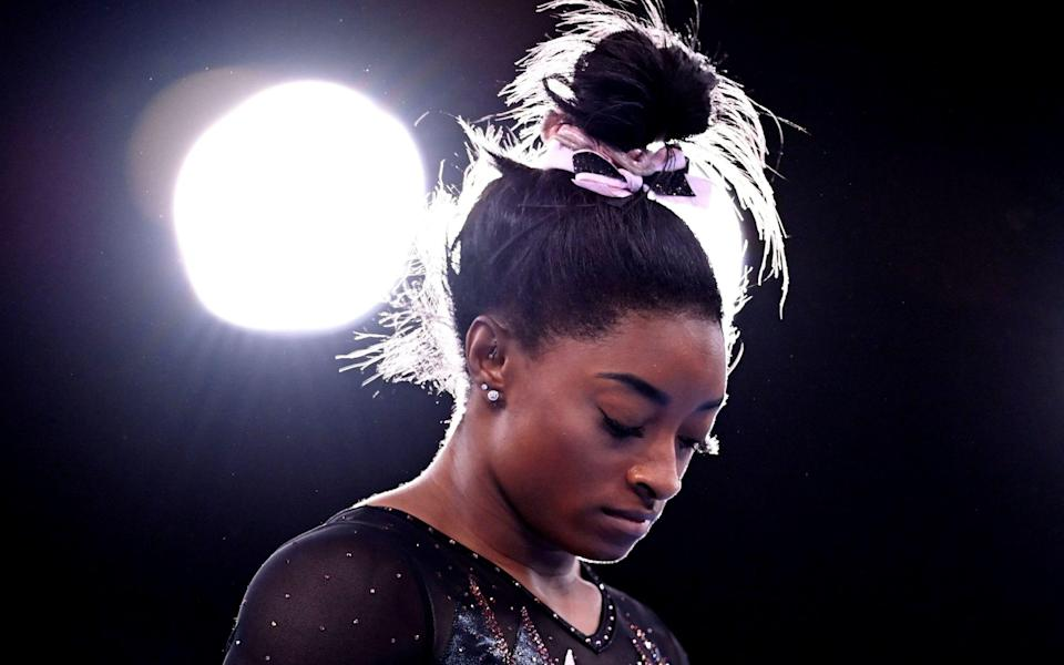 Simone Biles was abused by Larry Nassar, the former USA team doctor - Reuters