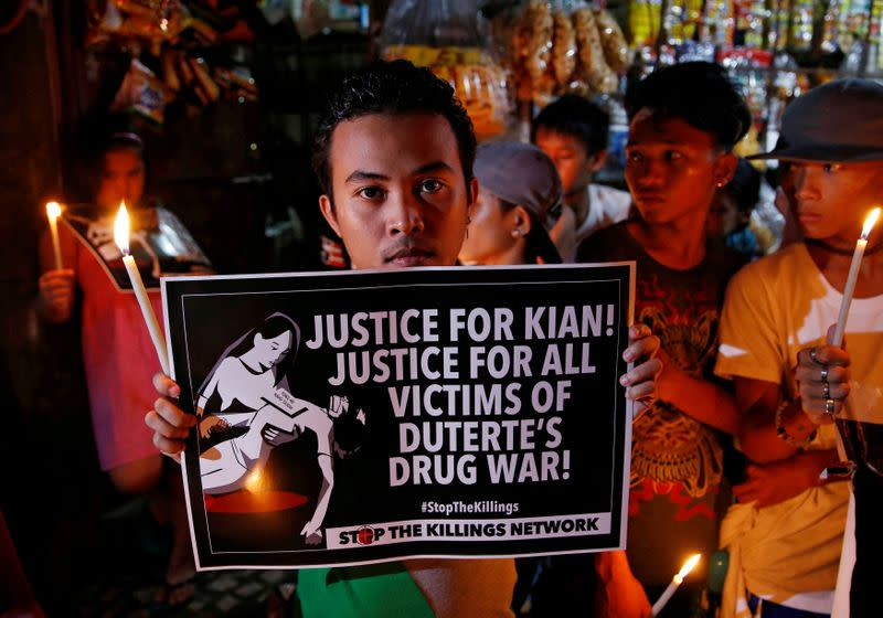 Scores of children killed in Philippines' war on drugs - report