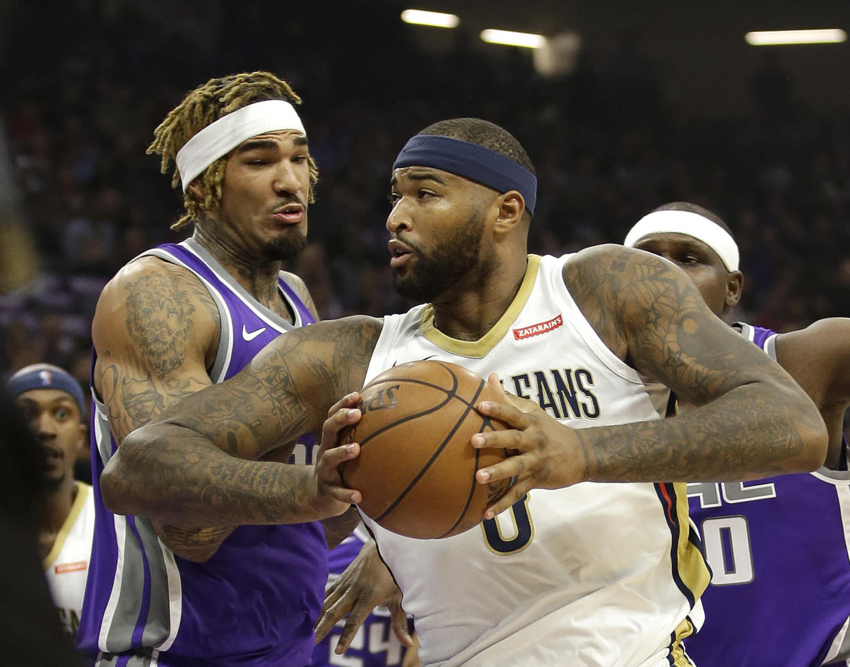 DeMarcus Cousins has offered to pay the funeral cost for Stephon Clark, an unarmed African American who was shot by police while standing in his grandparents' backyard in Sacramento last week. (AP/Rich Pedroncelli)