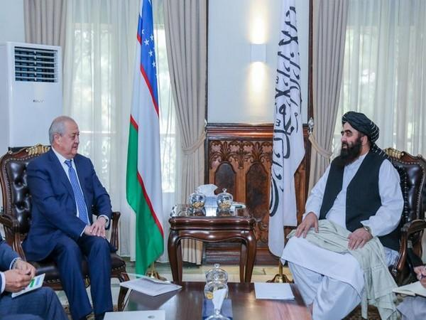 Taliban representative meets Uzbek Foreign Minister, discuss energy, trade  in Afghanistan