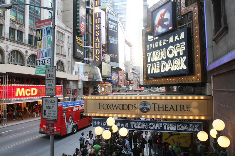 Lease to Broadway's biggest theater sold