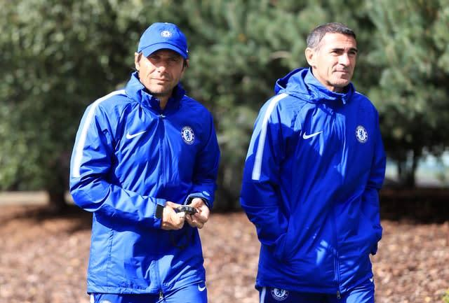 Alessio worked with Antonio Conte at Juventus and Chelsea (Adam Davy/PA)
