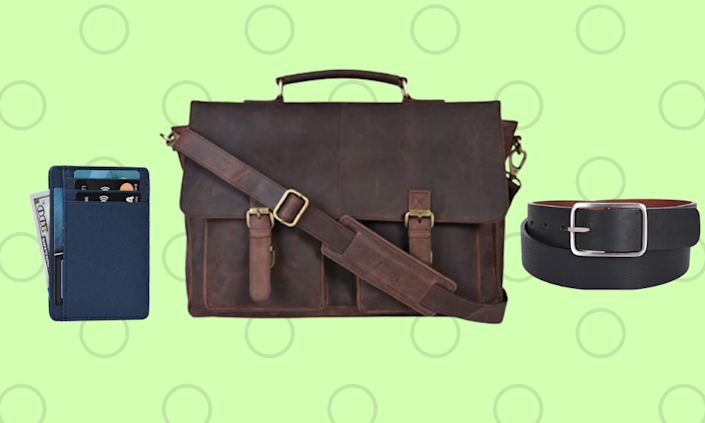 Save more than 25 percent on leather goods, just for today. (Photo: Amazon)