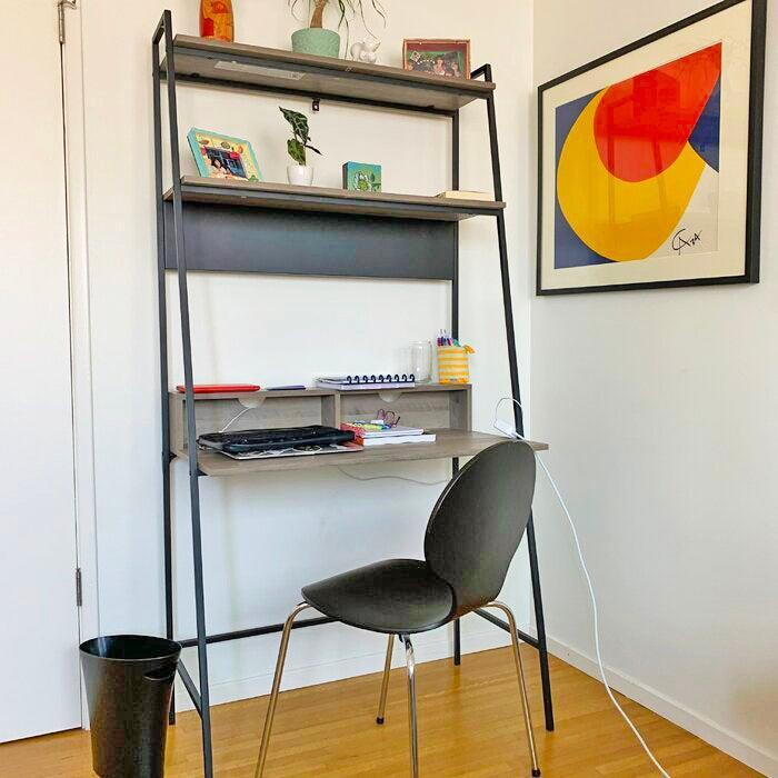 """<h2>Foundstone Diego Ladder Desk</h2><br>For WFHers situated in smaller spaces, this bestselling ladder desk pulls double duty as a workspace and storage unit. Reviewers call it sturdy, extremely easy to put together, good-looking, and streamlined. <br><br><strong>4.7 out of 5 stars and 1,700 reviews</strong><br>""""I LOVE MY LITTLE STUDY AREA! Honestly speaking, this desk is such a great purchase...It is modern, of great quality and so easy to set up. I would recommend it to anyone in need of a desk, and it functions also as a shelving unit so that's a bonus...Great design idea. If I could give it more stars I would...A VERY SATISFIED CUSTOMER."""" <em>– Wayfair Reviewer</em><br><br><em>Shop <strong><a href=""""https://www.wayfair.com/furniture/pdp/foundstone-diego-ladder-desk-w003217319.html"""" rel=""""nofollow noopener"""" target=""""_blank"""" data-ylk=""""slk:Wayfair"""" class=""""link rapid-noclick-resp"""">Wayfair</a></strong></em><br><br><br><strong>Foundstone</strong> Diego Ladder Desk, $, available at <a href=""""https://go.skimresources.com/?id=30283X879131&url=https%3A%2F%2Fwww.wayfair.com%2Ffurniture%2Fpdp%2Ffoundstone-diego-ladder-desk-w003217319.html"""" rel=""""nofollow noopener"""" target=""""_blank"""" data-ylk=""""slk:Wayfair"""" class=""""link rapid-noclick-resp"""">Wayfair</a>"""