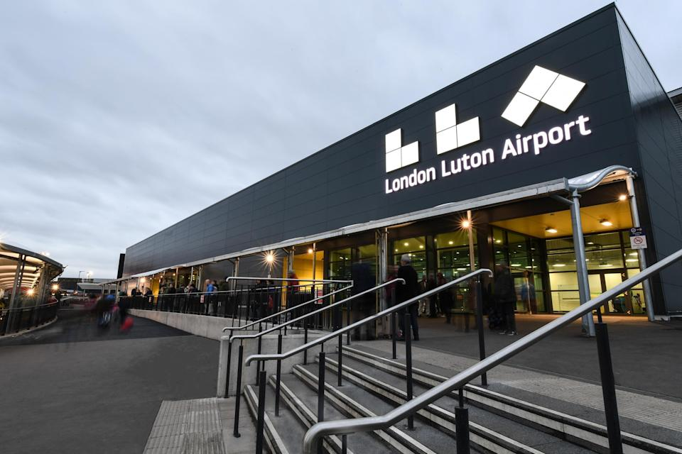 The flight took off from London Luton Airport on January 16
