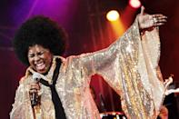 "<p>On May 10, the <a href=""https://variety.com/2020/music/news/betty-wright-soul-rb-singer-dead-dies-1234603031/"" class=""link rapid-noclick-resp"" rel=""nofollow noopener"" target=""_blank"" data-ylk=""slk:Grammy-winning soul singer died from cancer"">Grammy-winning soul singer died from cancer</a> at age 66. She's known for hits such as ""Tonight Is the Night,"" ""No Pain, No Gain,"" and ""Clean Up Woman.""</p>"