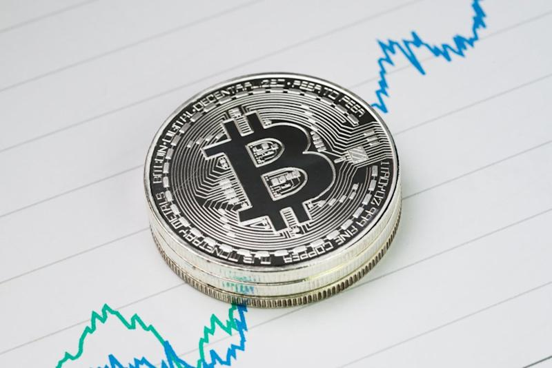Bitcoin price just went north to hit a 2019-high.   Source: Shutterstock