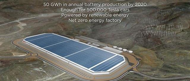 Tesla Gets Huge Tax Break To Build World's Biggest Battery Factory In Nevada