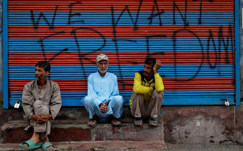The Indian authorities have arrested or placed the majority of Kashmiri politicians under house arrest, from former Chief Ministers to neighbourhood activists - REUTERS