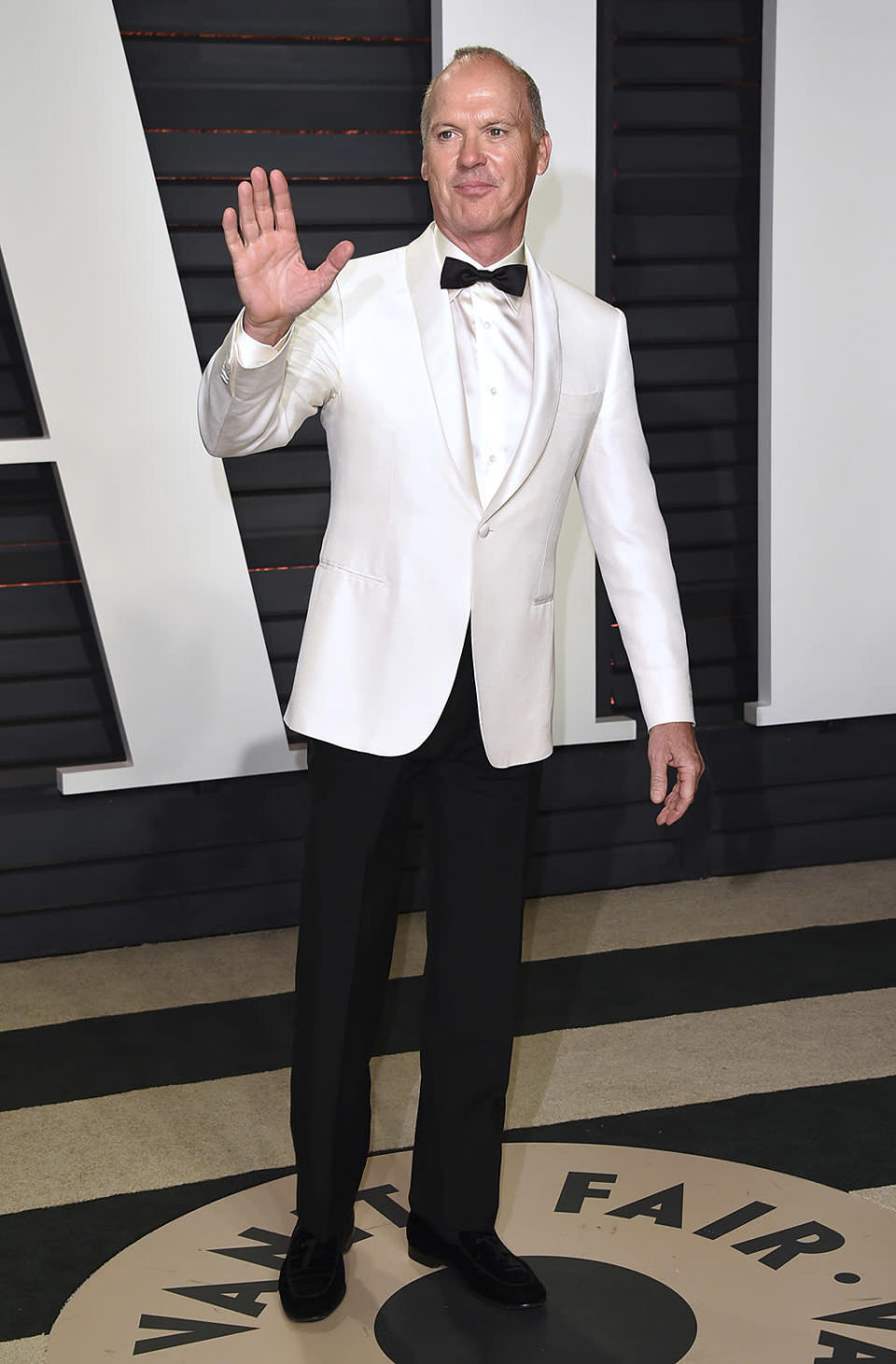 <p>Michael Keaton arrives at the Vanity Fair Oscar Party on Sunday, Feb. 26, 2017, in Beverly Hills, Calif. (Photo by Evan Agostini/Invision/AP) </p>