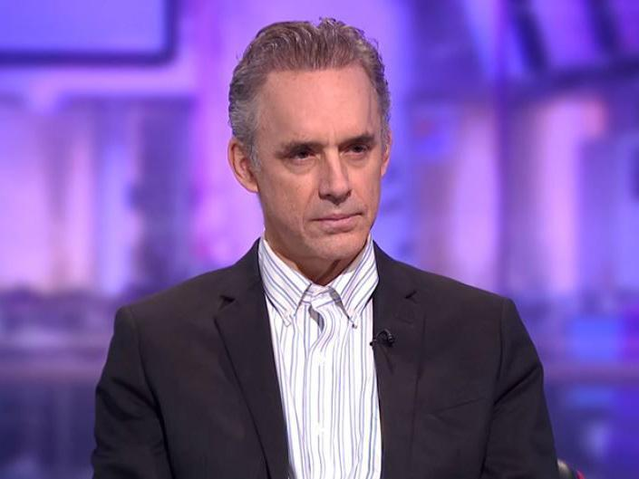 Jordan Peterson appearing on Channel 4 for an interview by Cathy Newman: Channel 4