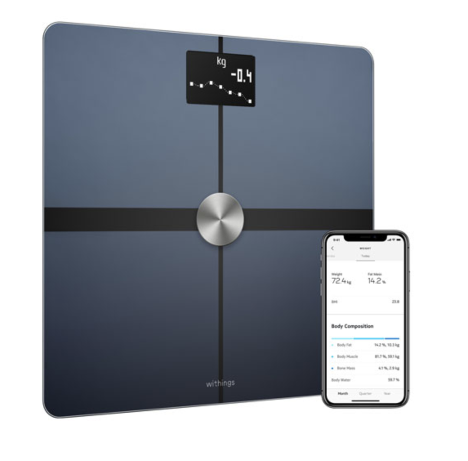 Withings Body+ Wi-Fi Smart Scale - Best Buy Canada.