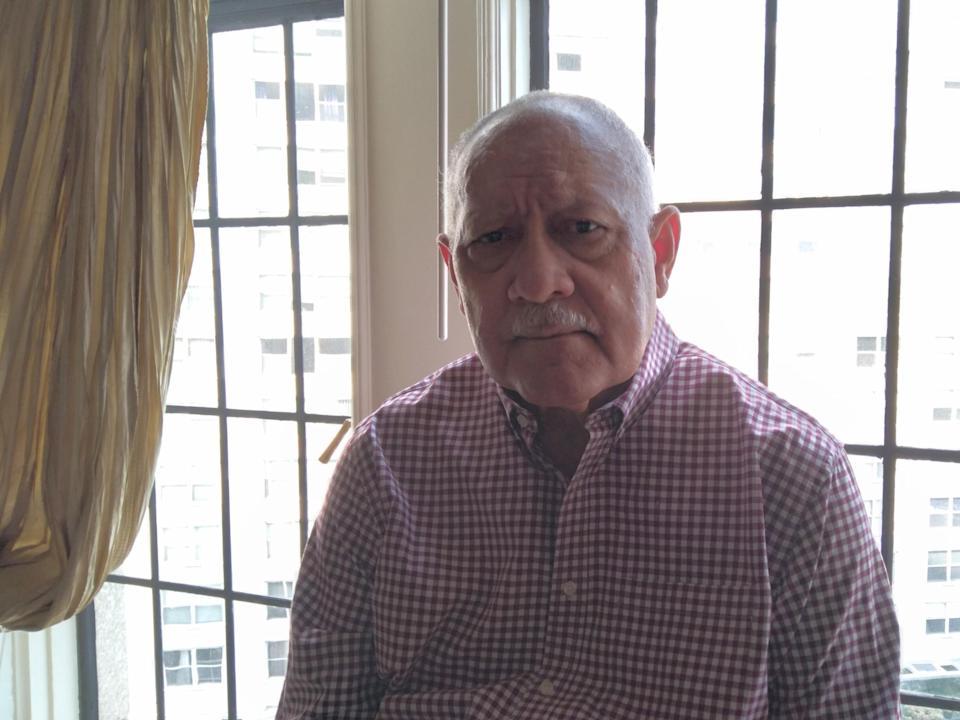 Weldon Rougeau, 78, took part in civil rights demonstrations as a student at Southern University in 1961.