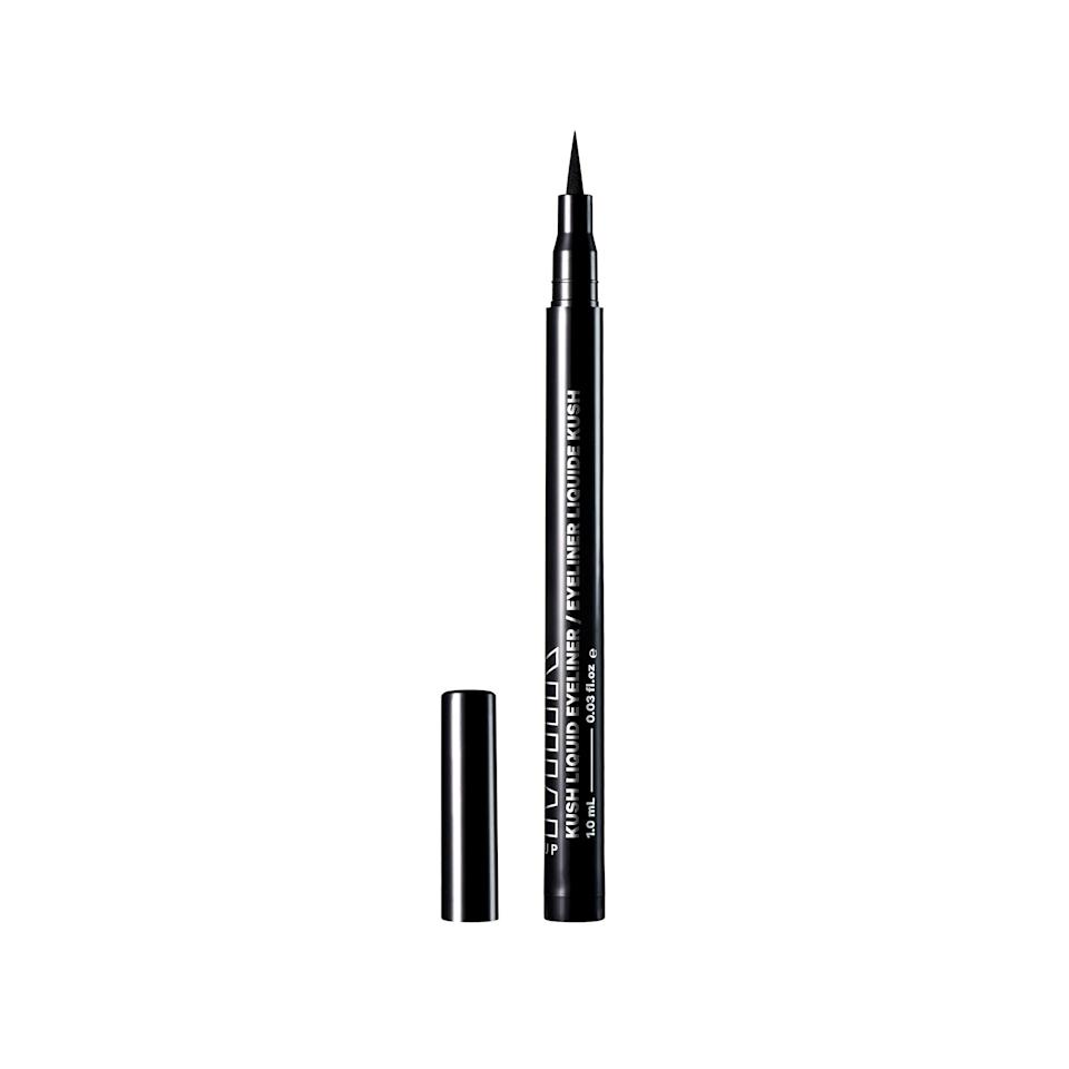 """<p>If you're picky about your eyeliner like we are, turn to Milk Makeup's Kush Liquid Eyeliner. A life-proof formula and pitch-black pigments give this eyeliner everything you need and more. </p> <p><strong>$22</strong> (<a href=""""https://shop-links.co/1713550987795226893"""" rel=""""nofollow noopener"""" target=""""_blank"""" data-ylk=""""slk:Shop Now"""" class=""""link rapid-noclick-resp"""">Shop Now</a>)</p>"""