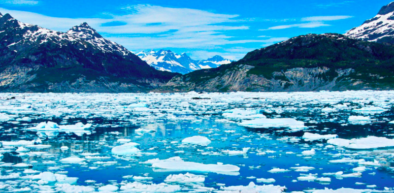 A German couple died from falling ice on the Valdez Glacier Lake (Flickr/file photo)