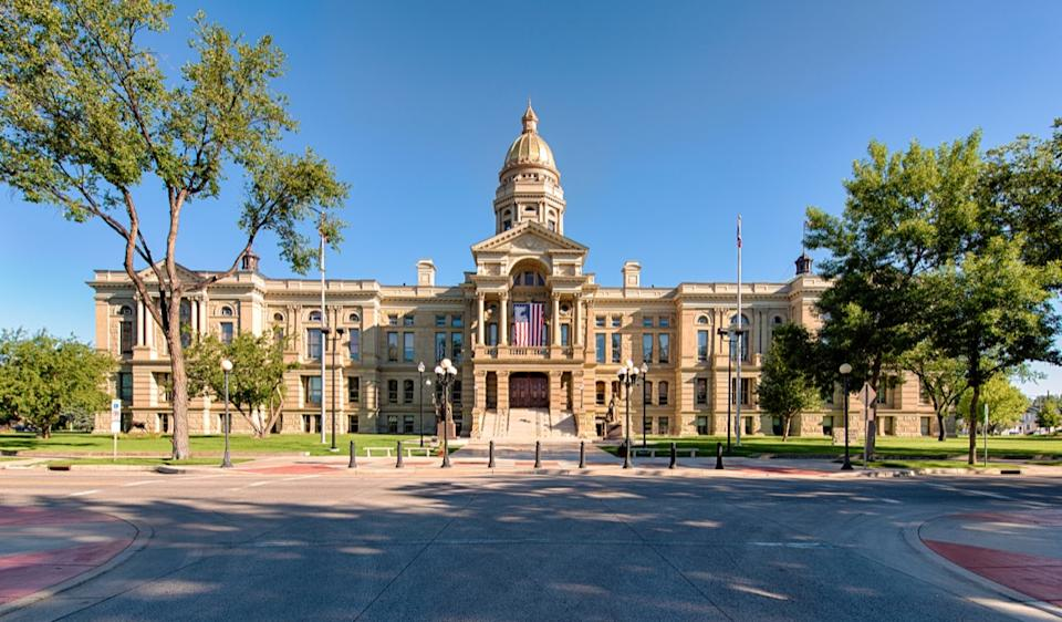 wyoming state capitol buildings