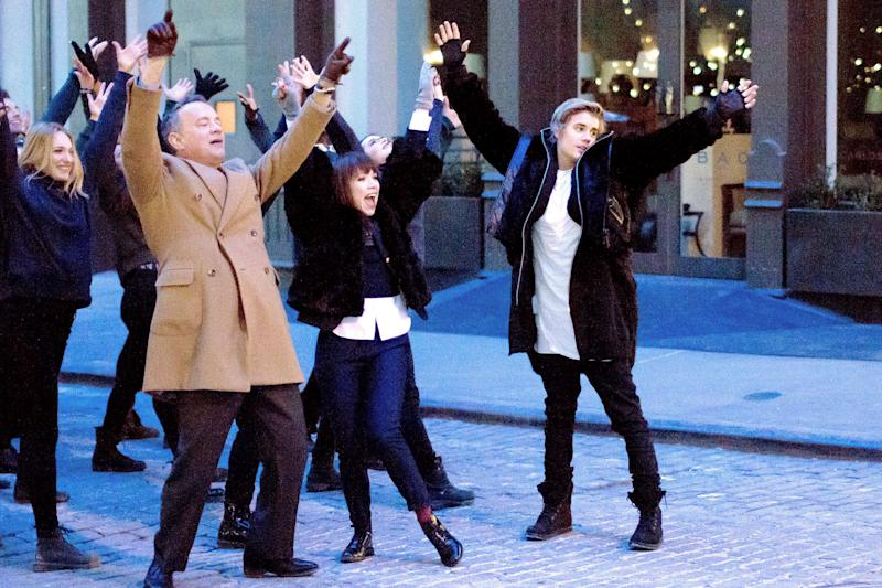 Tom Hanks, Carly Rae Jepson, Justin Bieber | Photo Credits: Vevo