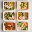 "<p>For those craving healthy, fresh meals, but lack the time or energy to cook from scratch, should try Detox Kitchen's <a href=""https://detoxkitchen.co.uk/fridge-fills"" rel=""nofollow noopener"" target=""_blank"" data-ylk=""slk:Fridge Fills"" class=""link rapid-noclick-resp"">Fridge Fills</a>. You choose six meals from a large selection (there's plenty on offer, whatever your dietary requirements), which can then be sent to you within a few days. Not only are the meals delicious, but unlike other ready meals, they are free from refined sugar and dairy, using only the highest-quality ingredients. What's more, they come in recyclable packaging and even do low-carbon emission deliveries. </p>"