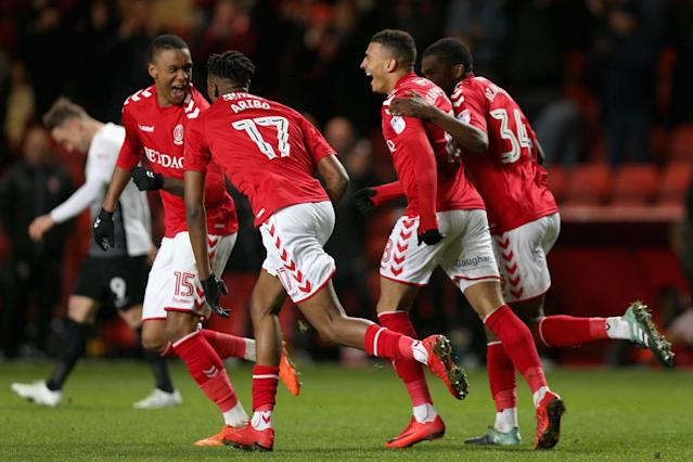Charlton's Karlan Ahearne-Grant relieved by 'crazy' late equaliser against Peterborough
