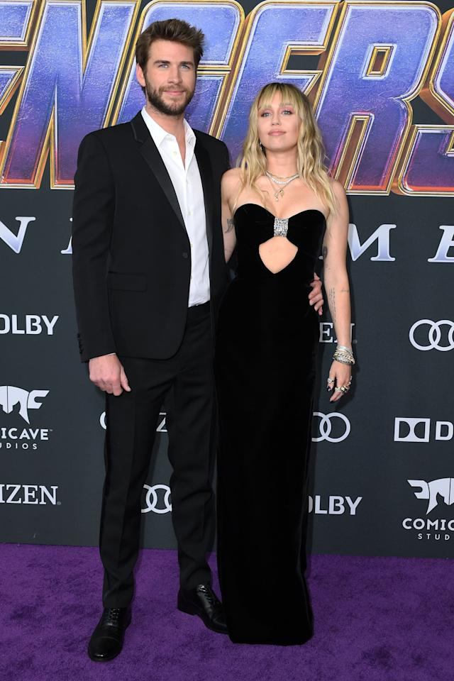 Miley and Liam Looked So Good at the Avengers: Endgame Premiere, I'm Actually Offended