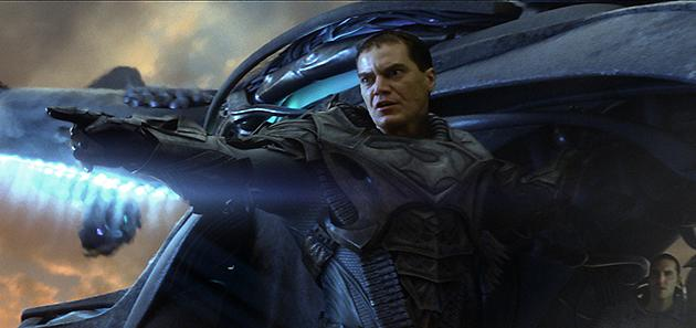 General Zod, played by Michael Shannon in 'Man of Steel'