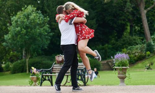 The cheesy but heart-warming dating and dancing show returns. Plus: Unreported World on the post-hurricane Bahamas. Here's what to watch this evening. Flirty Dancing 8pm, Channel 4 It may be cheesy and occasionally bizarre, but it is also impossible to watch this without cracking a smile. The second series of the dancing and dating show begins with a charmingly diffident pair from Darwen in Lancashire who have never met, despite living five minutes apart. They have more or less given up on their hometown as a source of potential romance, so watching them click is undeniably sweet – it turns out that hips really don't lie. Ashley Banjo is the fleet-footed Cupid making the magic happen. Phil Harrison Unreported World 7.30pm, Channel 4 The indefatigable foreign affairs strand reaches its 38th series, making it almost as resolute a Friday staple as Have I Got News for You. It is as righteously stern as ever, exploring Hurricane Dorian's rampage through the Bahamas. Seyi Rhodes finds that the aftermath has proved even bleaker than the event itself. PH Trust Morecambe & Wise 8pm, Gold The legend of Eric and Ernie is still potent. Fronted by Lenny Henry, this series combines guests and clips to explore different aspects of their comedy. Tonight, Glenda Jackson recalls the mixture of hilarity and intense professionalism that was a feature of working with the duo. Sunshine is brought. PH Caravanning With Shane Richie 9pm, Channel 5 The passable, consciously Partridge-titled doc series concludes with the former EastEnders actor and panto king taking a trip to the Isle of Wight. As well as a visit to the UK's oldest theme park, there is also time to stop by the pier where he gave his first ever performance. Hannah J Davies Flint's Deadly Water 9pm, PBS America The recent history of Flint feels emblematic, since it maps both the decline of a nation and the decline of the ideology by which it lives. This doc reveals the shaming truth of how a US city was poisoned by the greed an