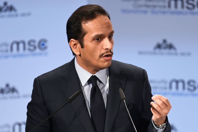 Qatar foreign minister says early talks with Saudi Arabia have broken stalemate