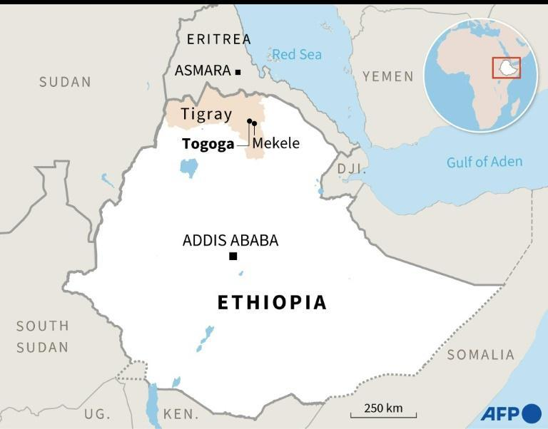 At least 64 people were killed and 180 injured in an air strike on a market in the town of Togoga in the Tigray region, on June 22, 2021