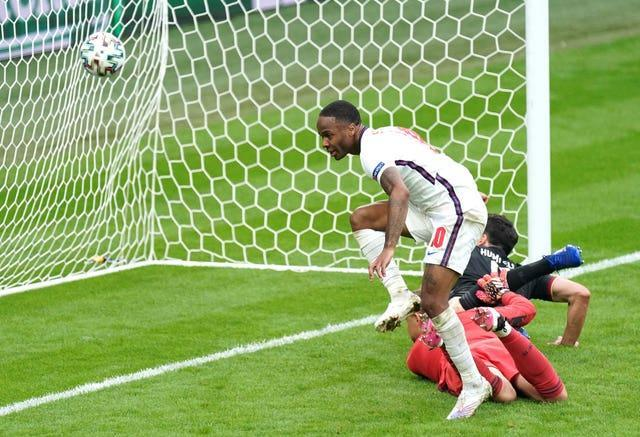 Sterling's opening goal