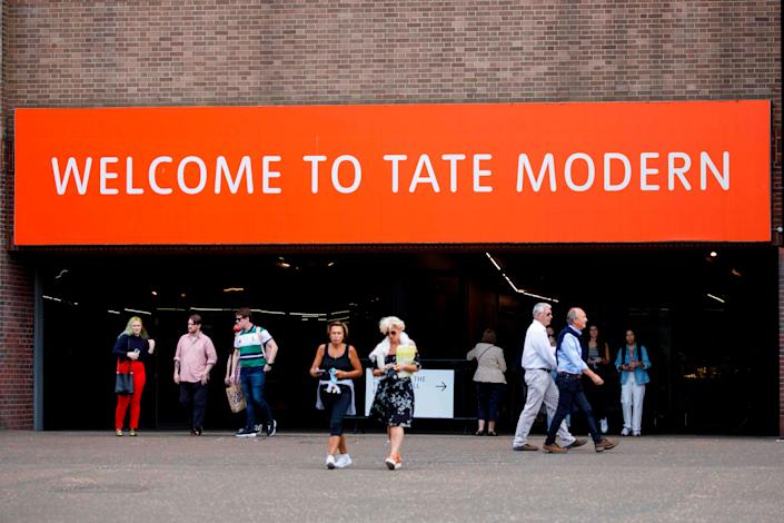 Tate Modern, in the Bankside area of central LondonAFP via Getty Images