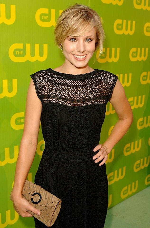 Kristen Bell at The CW Launch Party.