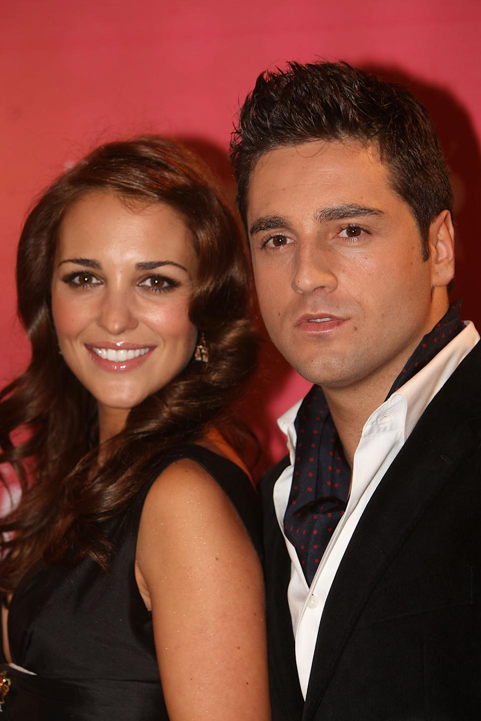 Actress Paula Echevarria and her husband David Bustamante attend the Glamour Awards party at Casino de Madrid November 6, 2007 in Madrid, Spain. (Photo by Eduardo Parra/FilmMagic)