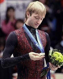 Coach: Plushenko was 'robbed' of gold