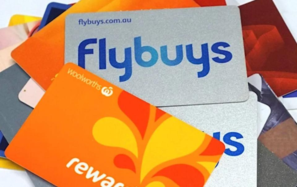 Flybuys and Everyday Rewards cards