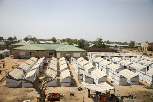 More than 3,000 displaced people have taken refuge in a camp at Anka