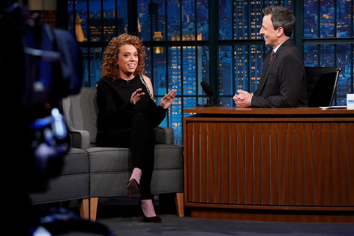 "The comedian's show was canceled as Netflix added several more talk shows to its lineup. She appears here on ""Late Night With Seth Meyers"" on May 9. (Photo: NBC via Getty Images)"