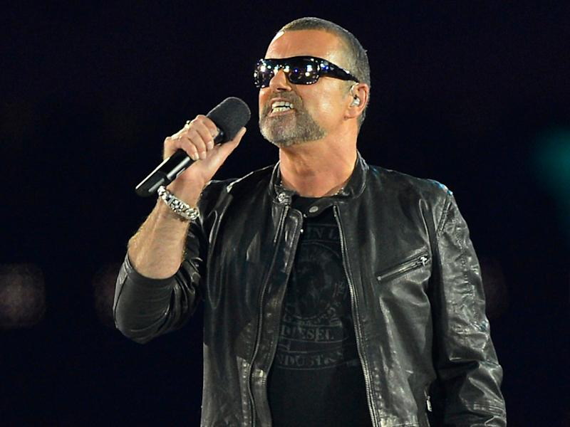 British singer George Michael: Getty