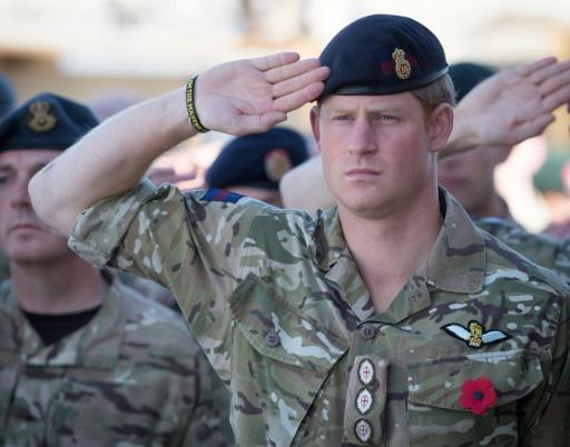 Prince Harry served two tours of duty in Afghanistan