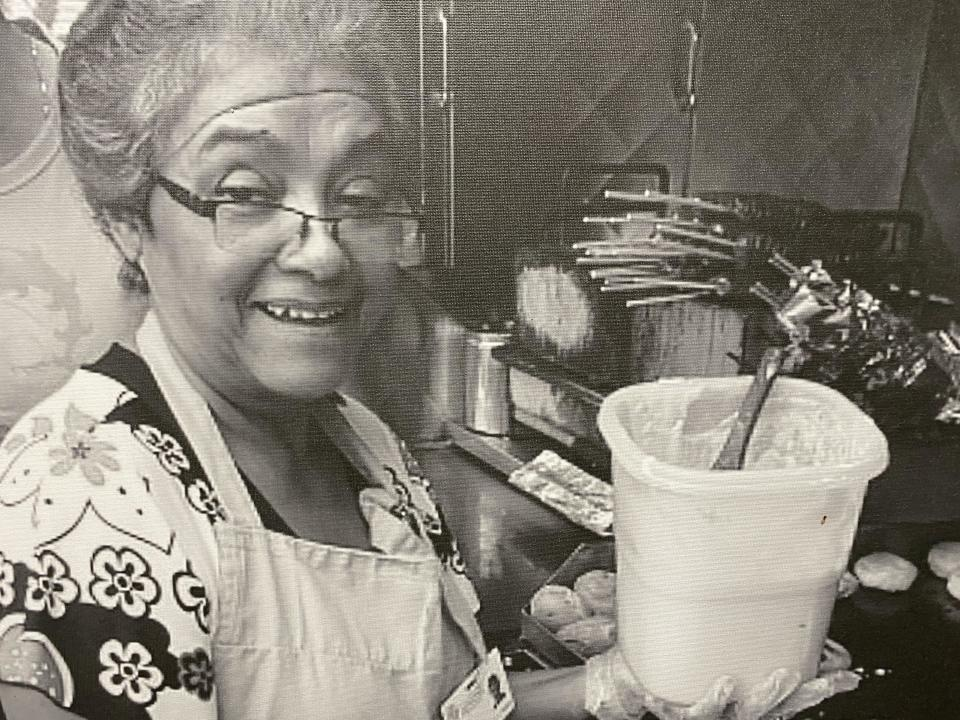 Maria Cano has been a staple in Jackson Heights, Queens for decades. / Credit: Alejandro Osorio