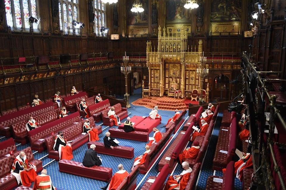 Tory donor Malcolm Offord has taken up a seat in the House of Lords (Eddie Mulholland/Daily Telegraph/PA) (PA Wire)